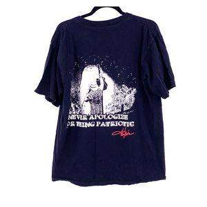 Vintage Tops - Vintage Toby Keith patriotic band t shirt large
